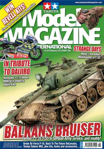 Tamiya Model Magazine issue 208