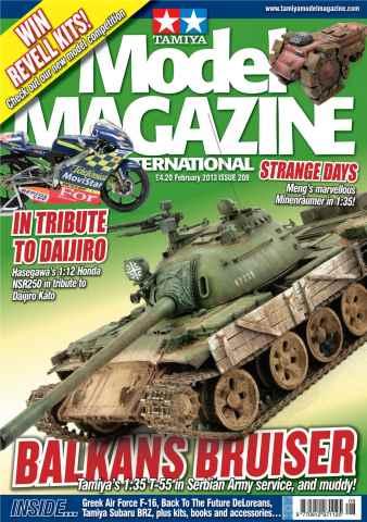 Tamiya Model Magazine issue 208