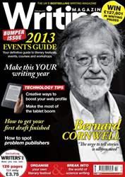 Writing Magazine issue Writing Magazine February 2013