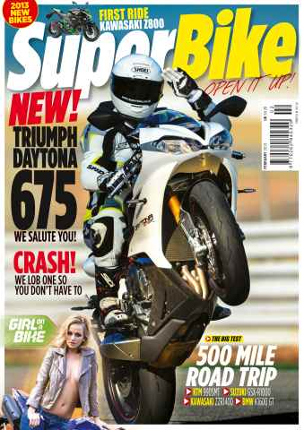 Superbike Magazine issue February 2013