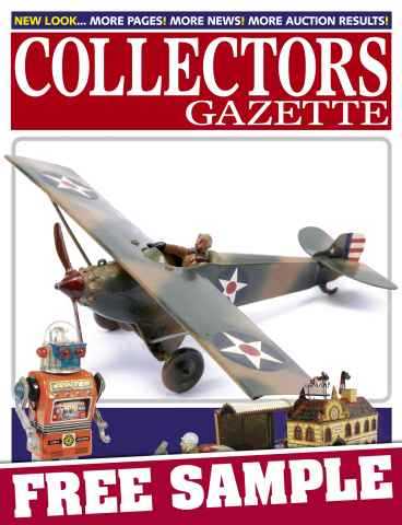 Collectors Gazette issue Free sampler