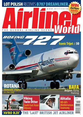 Airliner World issue February 2013