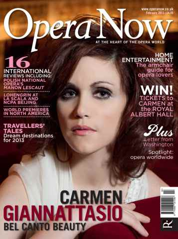 Opera Now issue February