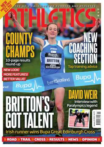Athletics Weekly issue AW January 10 2013