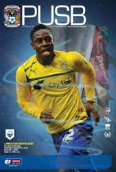 CCFC Official Programmes issue 19 v PRESTON NORTH END (12-13)