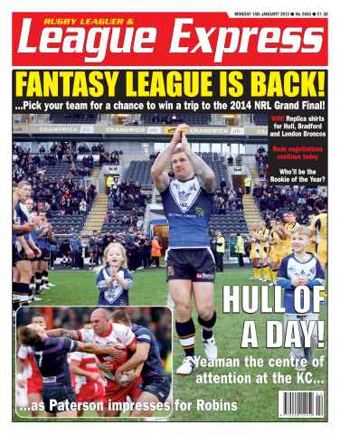 League Express issue 2845