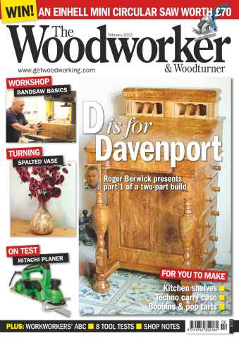 The Woodworker Magazine Preview 1