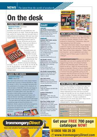 The Woodworker Magazine Preview 8