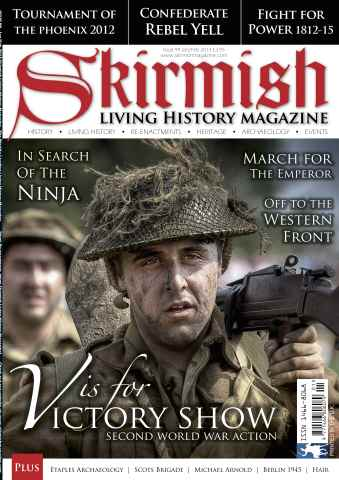 Skirmish Living History issue Issue 99