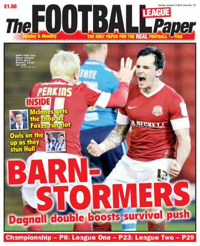 The Football League Paper issue 13th January 2013