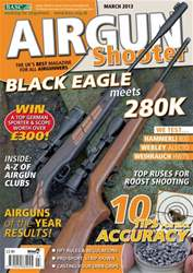 Airgun Shooter issue March 2013