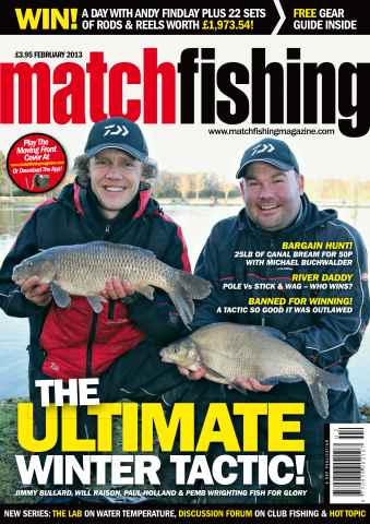 Match Fishing issue February 2013