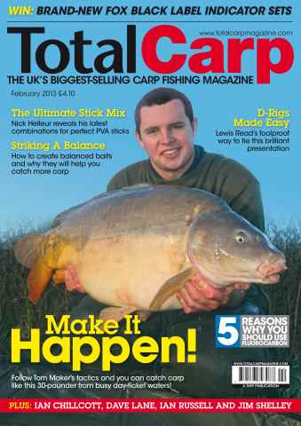 Total Carp issue February 2013