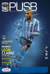 CCFC Official Programmes issue 21 v OLDHAM ATHLETIC (12-13)