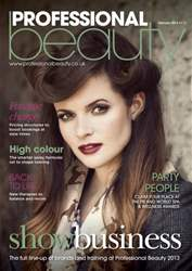 Professional Beauty issue Professional Beauty February 2013