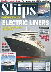 Ships Monthly issue Century of Turbine Ships Mar 13