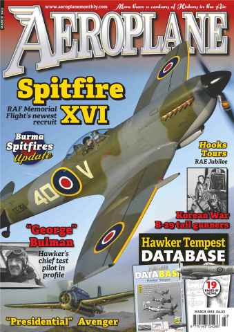 Aeroplane issue No.479 Spitfire XVI