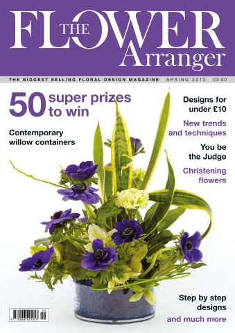 The Flower Arranger issue Spring 2013