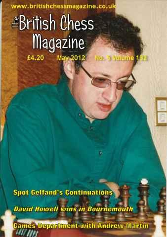 British Chess Magazine issue May 2012