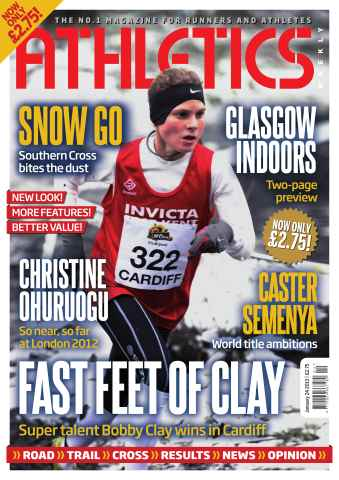 Athletics Weekly issue AW January 24 2013
