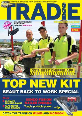 Tradie issue Tradie Feb 2013