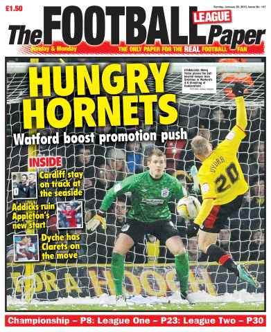 The Football League Paper issue 20th January 2013