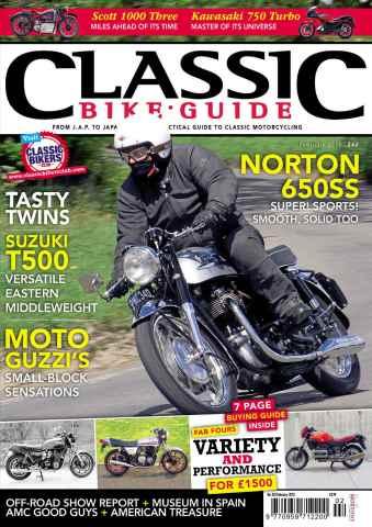 Classic Bike Guide issue February 2013