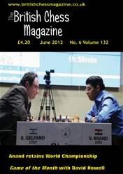 British Chess Magazine issue June 2012