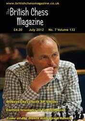 British Chess Magazine issue July 2012