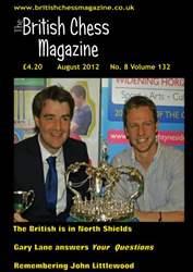 British Chess Magazine issue August 2012