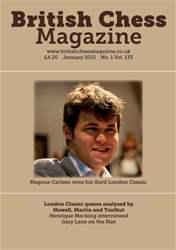 British Chess Magazine issue January 2013