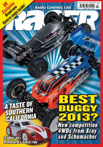 Radio Control Car Racer issue March 2013