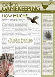 Modern Gamekeeping issue MAY 2011