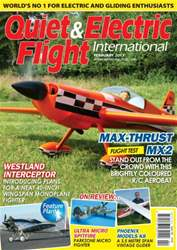 Quiet & Electric Flight Inter issue February 2013