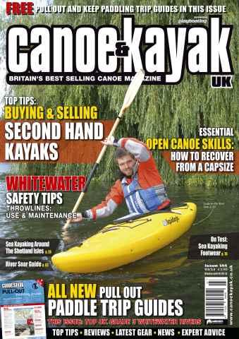 Canoe & Kayak UK issue Buying&Selling Secondhand Kayaks