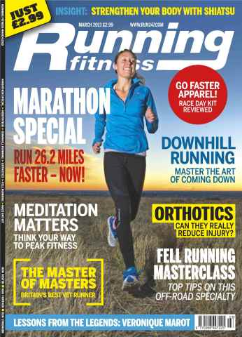 Running Fitness issue Marathon Training March 2013