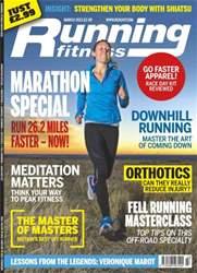 Running issue Marathon Training March 2013