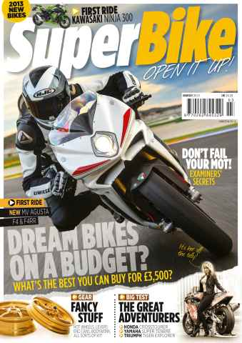 Superbike Magazine issue March 2013