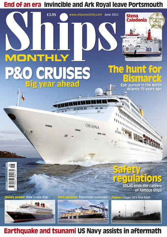 Ships Monthly issue June 2011