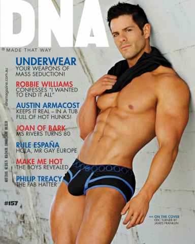 DNA Magazine issue #157 - Underwear Issue
