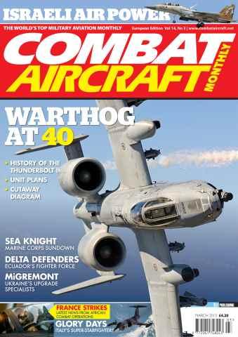 Combat Aircraft issue Vol 14 No 3