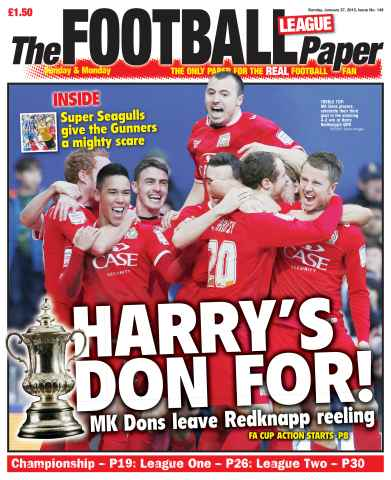 The Football League Paper issue January 27 2013