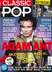 Classic Pop issue Classic Pop Adam Ant