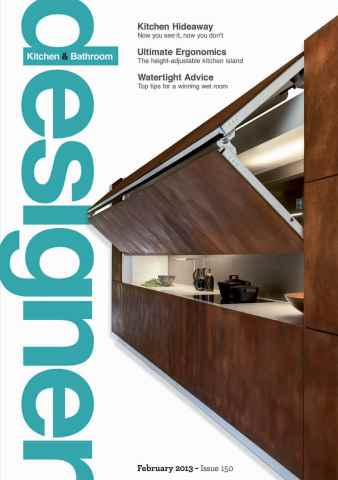 Designer Kitchen & Bathroom issue February 2013