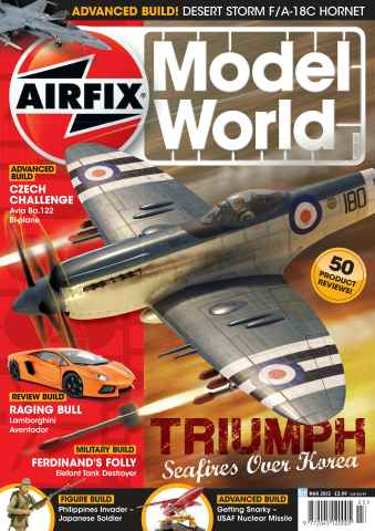 Airfix Model World issue March 2013