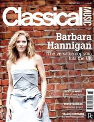 Classical Music issue February 2013