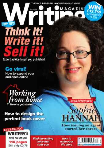 Writing Magazine issue Writing Magazine march