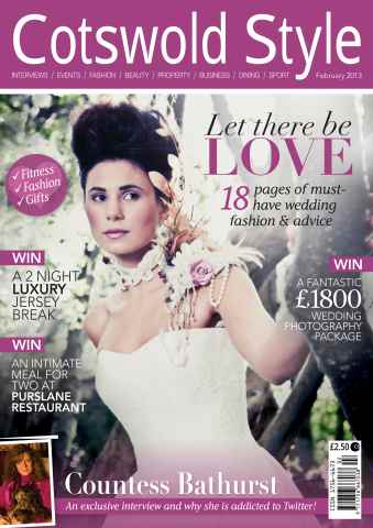 Cotswold Style issue Cotswold Style February 2013
