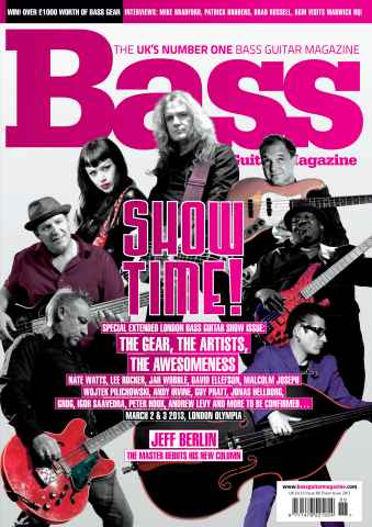 Bass Guitar issue 88 Show Issue 2013