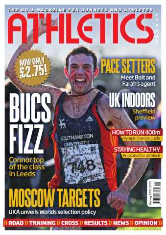 Athletics Weekly issue AW February 7 2013